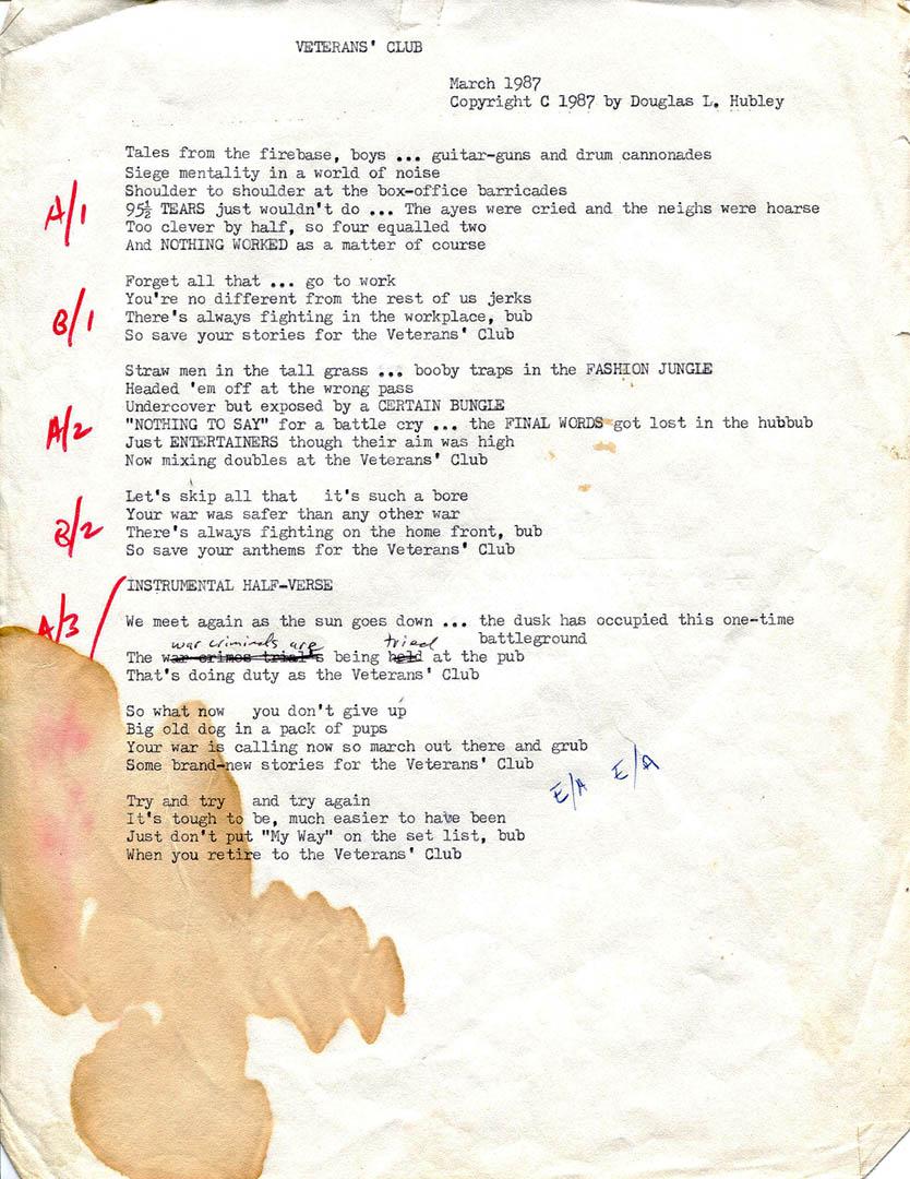 displaying 17 images for basement band lyrics