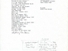 A Boarders repertoire list. Hubley Archives.