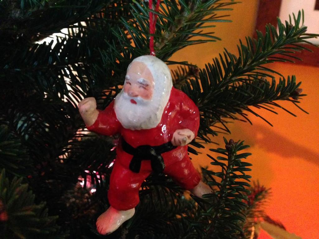 Judo Santa