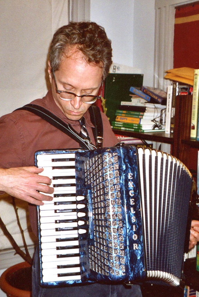 The Excelsior, bought at Accordion-O-Rama in New York City in November 2002. Photo by Gretchen Schaefer/Hubley Archives.