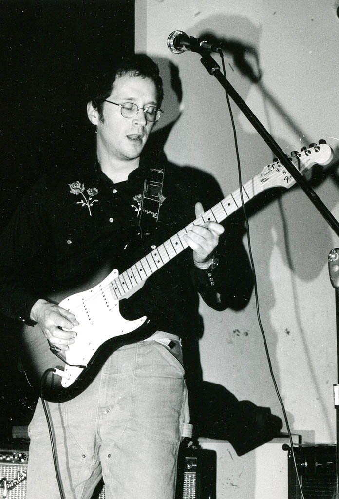 Doug at Geno's in 1985. Jeff Stanton photo.