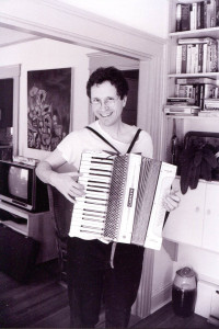 The Carmen accordion was an auction bargain at $35. Gretchen Schaefer photo.