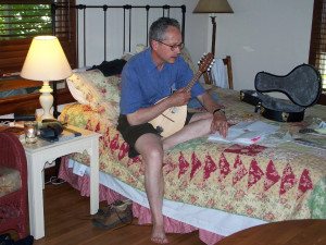 Learning the mandolin, 2010.
