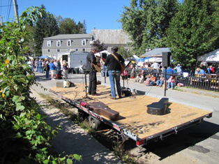 The 2009 Apple Festival performance from a different angle. Jeff Stanton photo.